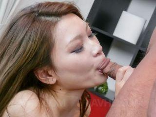 Sweet asian chick Arisa Kuroki fingered and fucked