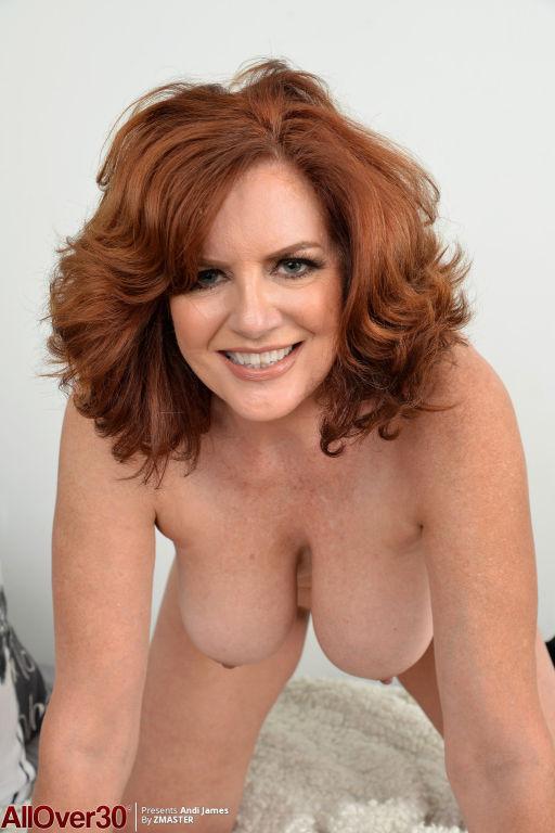 Sexy Redhead MILF Andi James