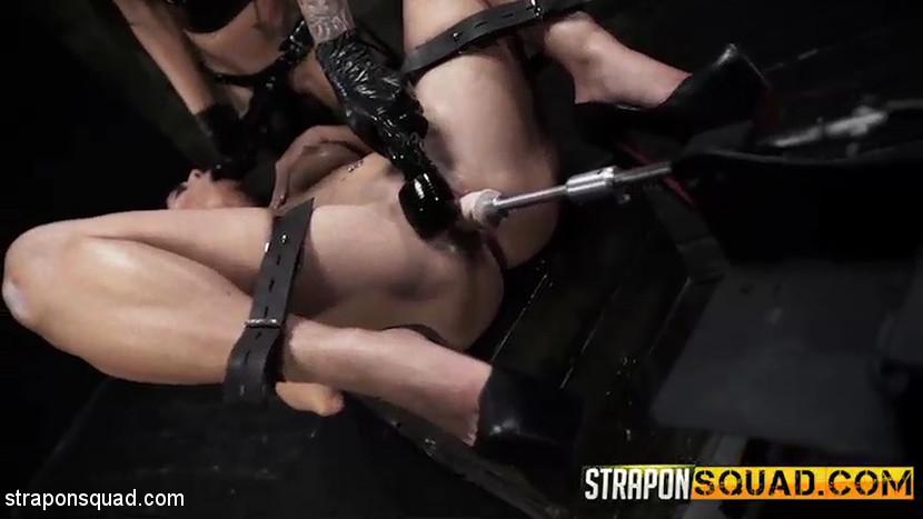 Lesbian Domination & Fucking Machine Fun with Alexa ...