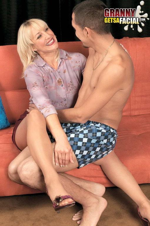 Seductive and slutty mature woman Blake James