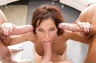 sexy Syren De Mer large cock pornstars