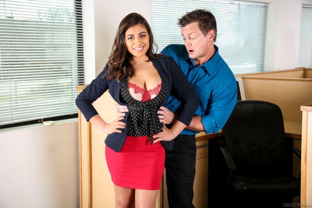 Big Tits Office Chicks #05, Scene #01