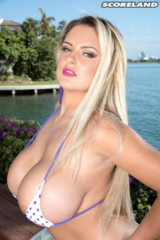 Busty British Bikini Babe
