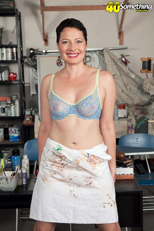 The sexy art teacher