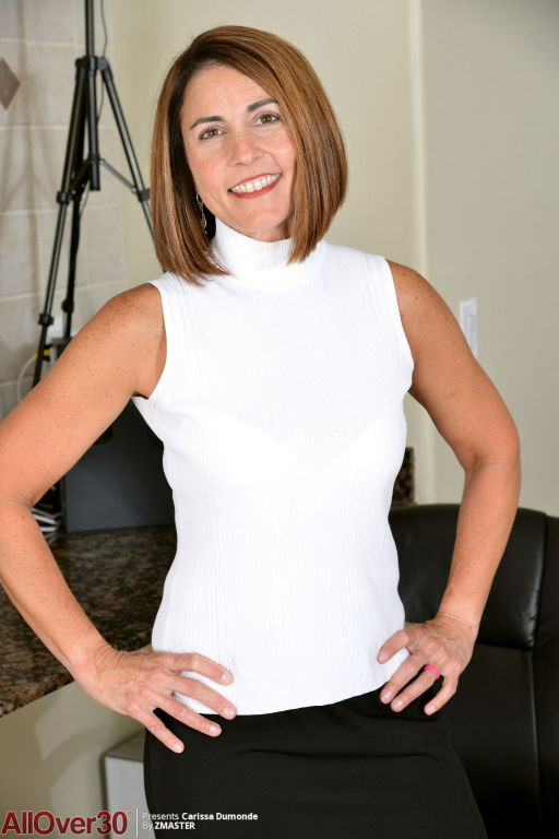 Horny mature spreads in the office