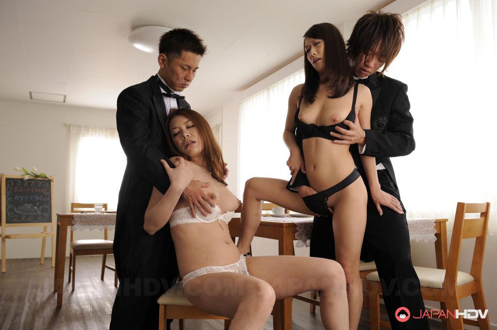 Kai and Yanagida getting rammed