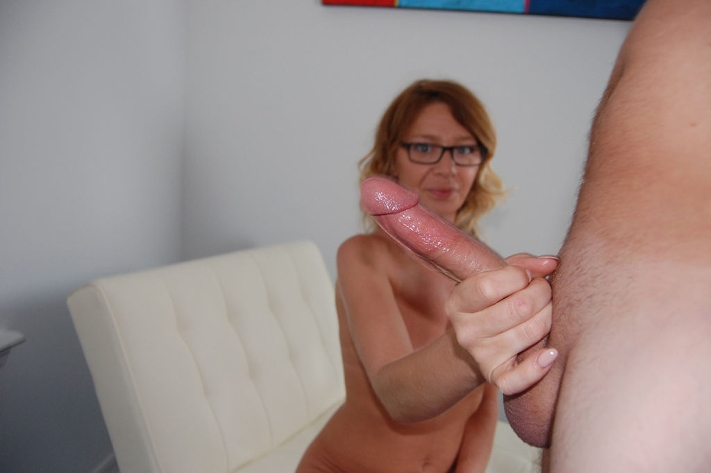 Horny milf Harley Summers milking young stud big c
