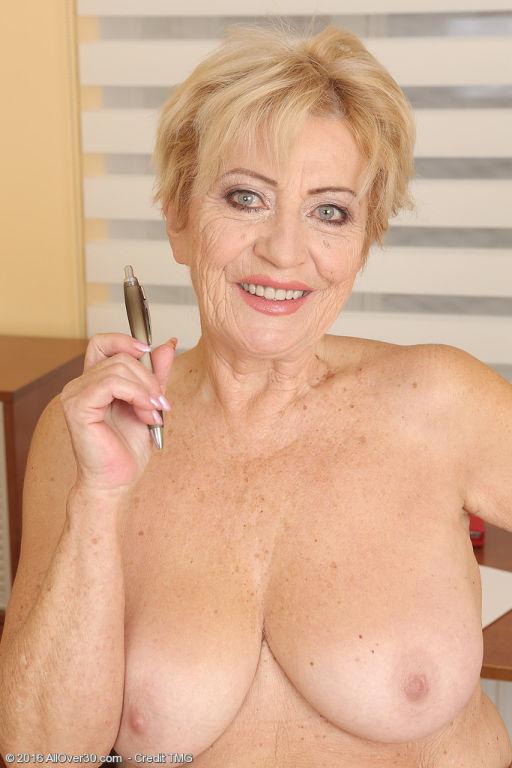 70 Year Old Maya Lambert From AllOver30