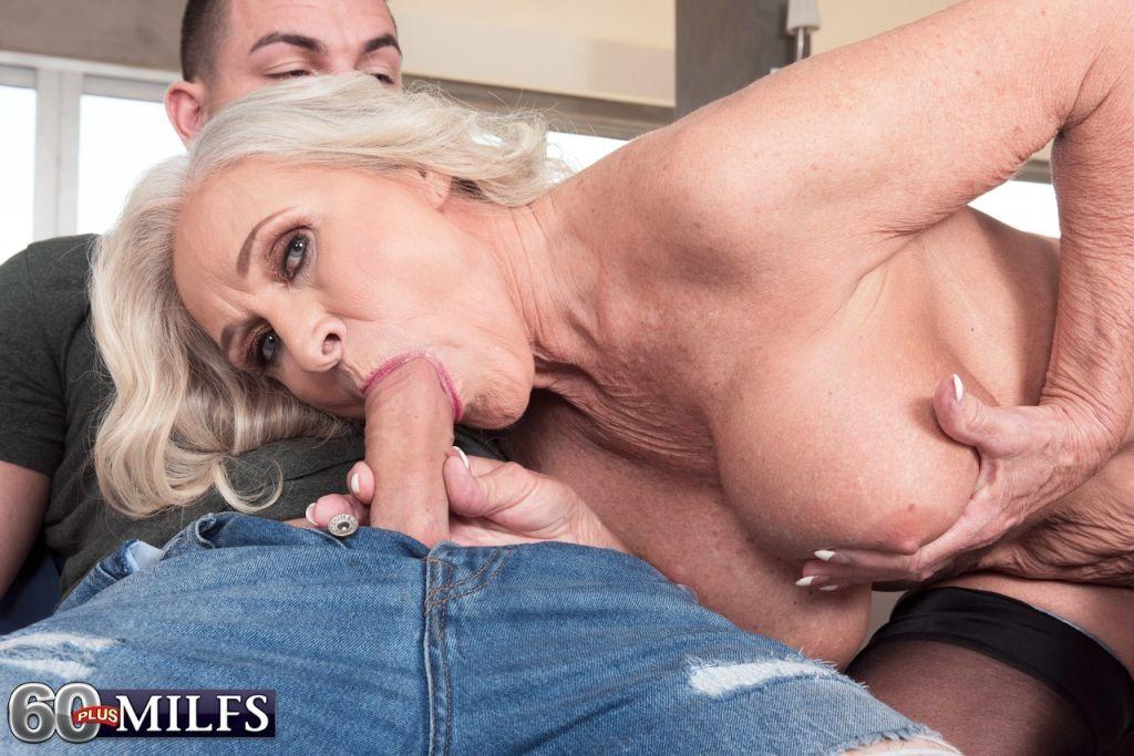 He will lick Katia's boobs before she gets penetra