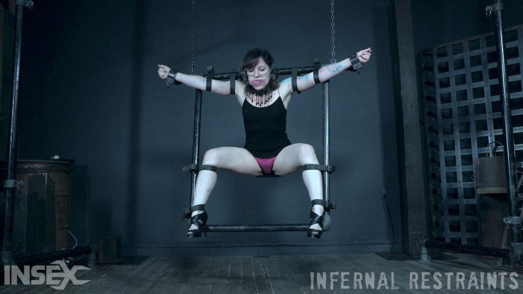 Fawn Locke endures some seriously strict bondage.