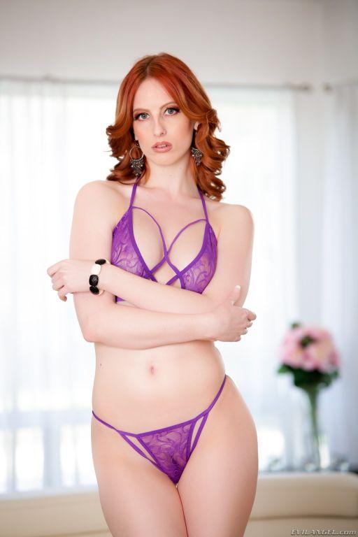Redhead Alex: Double Penetration 3-Way