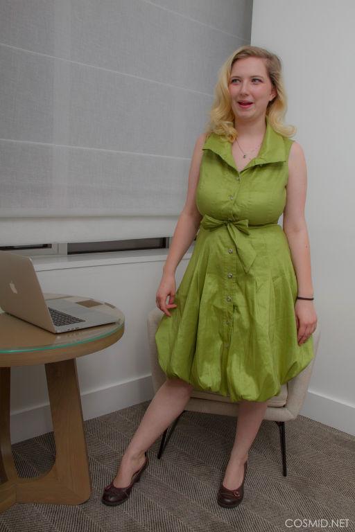 Mim Turner GREEN DRESS