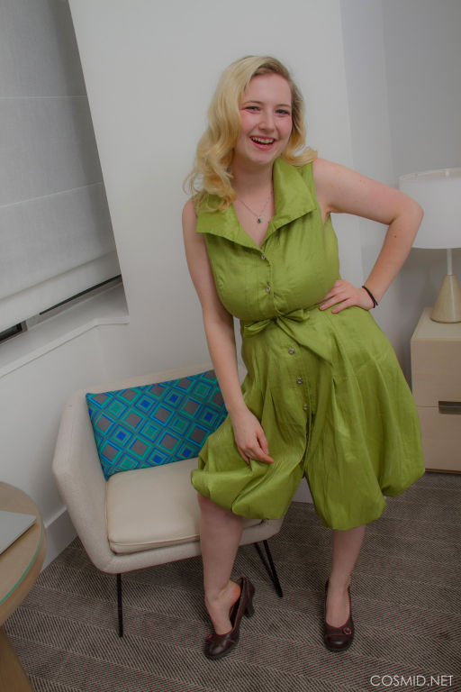 Mim Turner GREEN DRESS