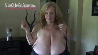 Cum On Her HHuge Boobs