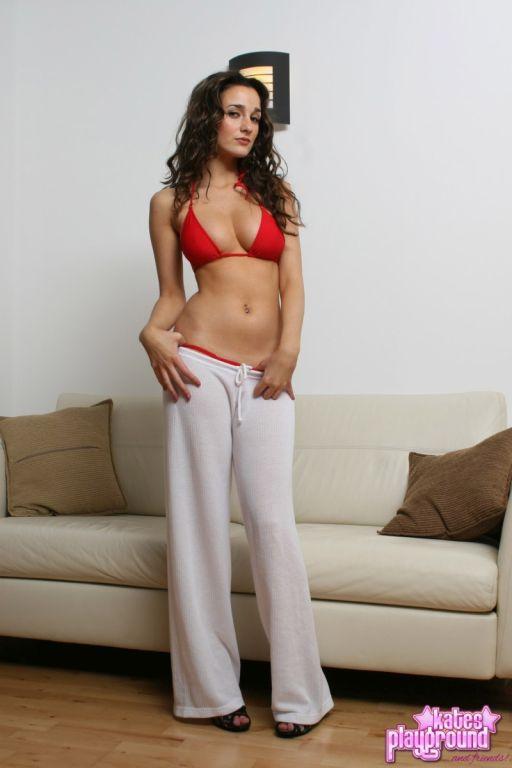 Georgina Moore Red Bikini