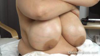 Slippery Soft Sagging Tits