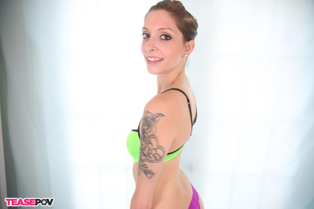 Vicky Vallen giving an oral pleasure till cock exp