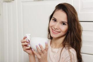 Young Russian model Leona Mia set Perzona by MetAr