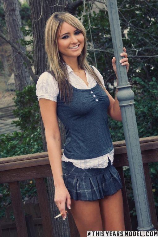 Alicia Raven Smoking Hot Schoolgirl