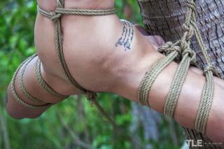 Jacinta B explores the erotic art of bondage