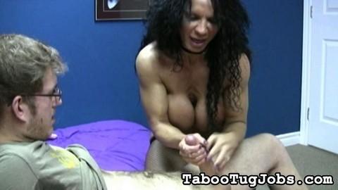 naked bondage blowjob