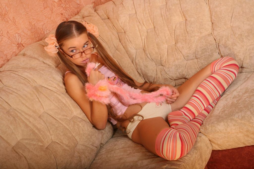 Young Russian webcams model Susana