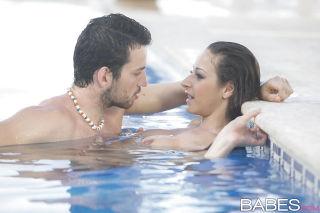 European brunette Martina Gold having hot couple s