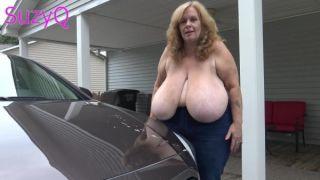 Suzie Q Big Tits Car Wash