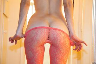 Sexy redhead girl Bree Daniels showing her hot rou