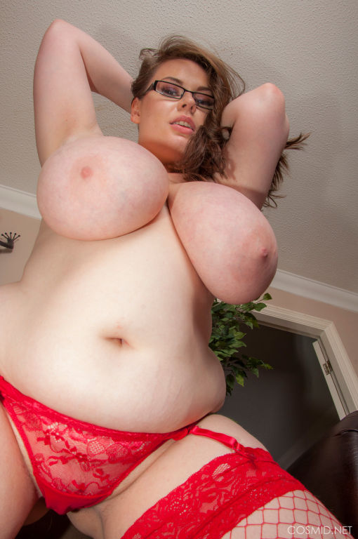Georgina Gee RED LINGERIE