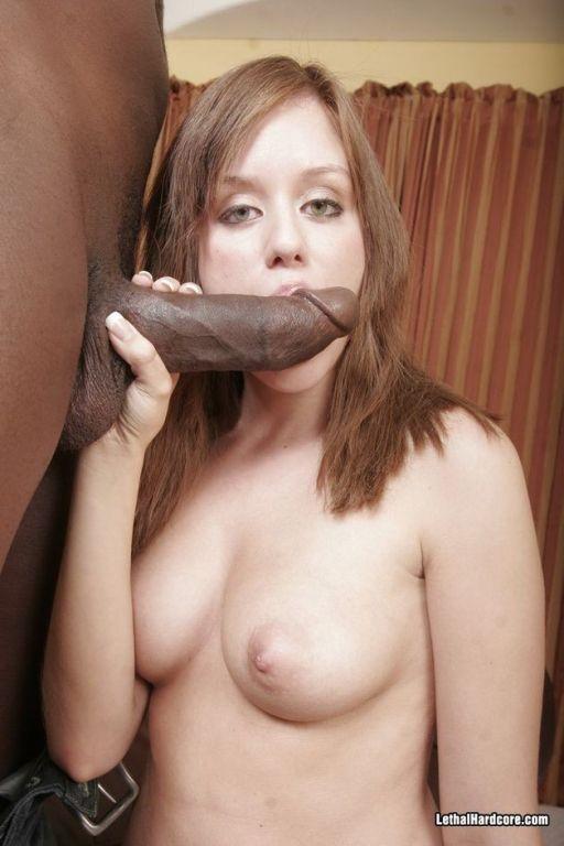 Babe Missy Lou enjoying a big black penis hardcore