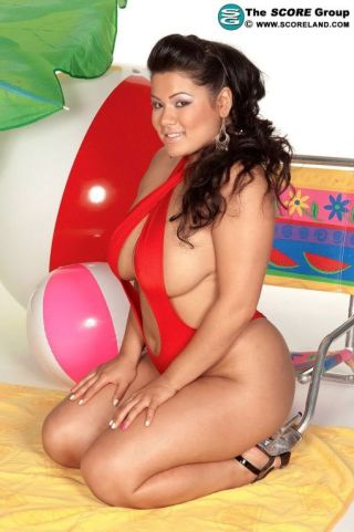 sexy bikini busty