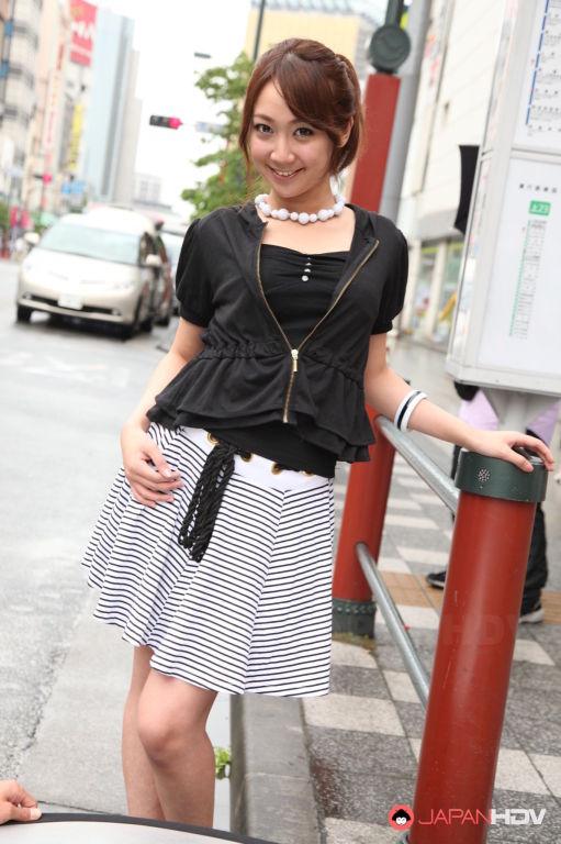 Ryo Akanishi showing off outdoors