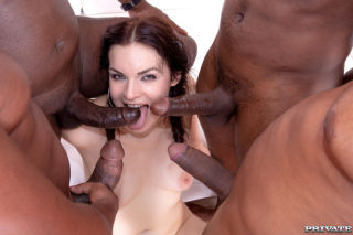 porn Hannah Vivienne milf group sex