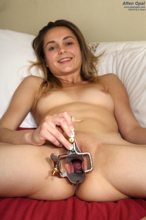 Sexy Aften Opal Pumps Pussy Swollen