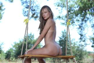 Young Russian model Mirabella set Swing By MetArt