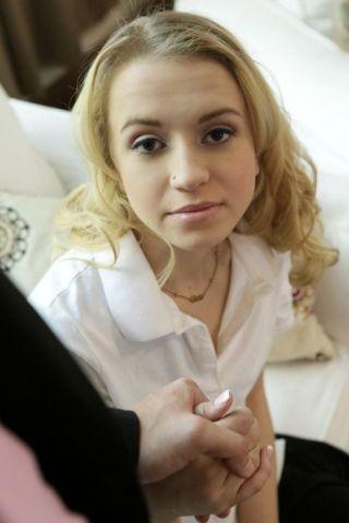 nude Kristy May coed schoolgirl