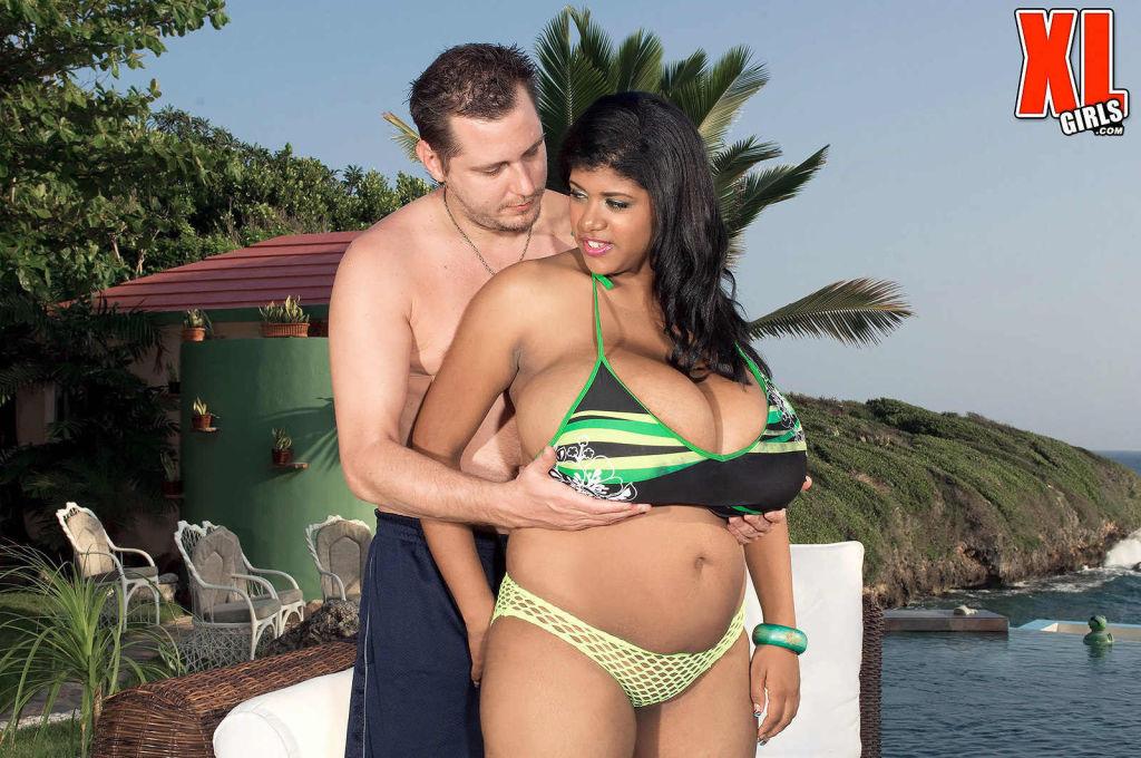 Latina huge titted Kristina Milan getting fucked