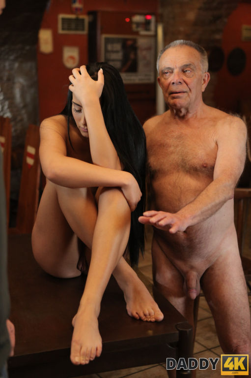 DADDY4K Old man with boner penetrates attractive g