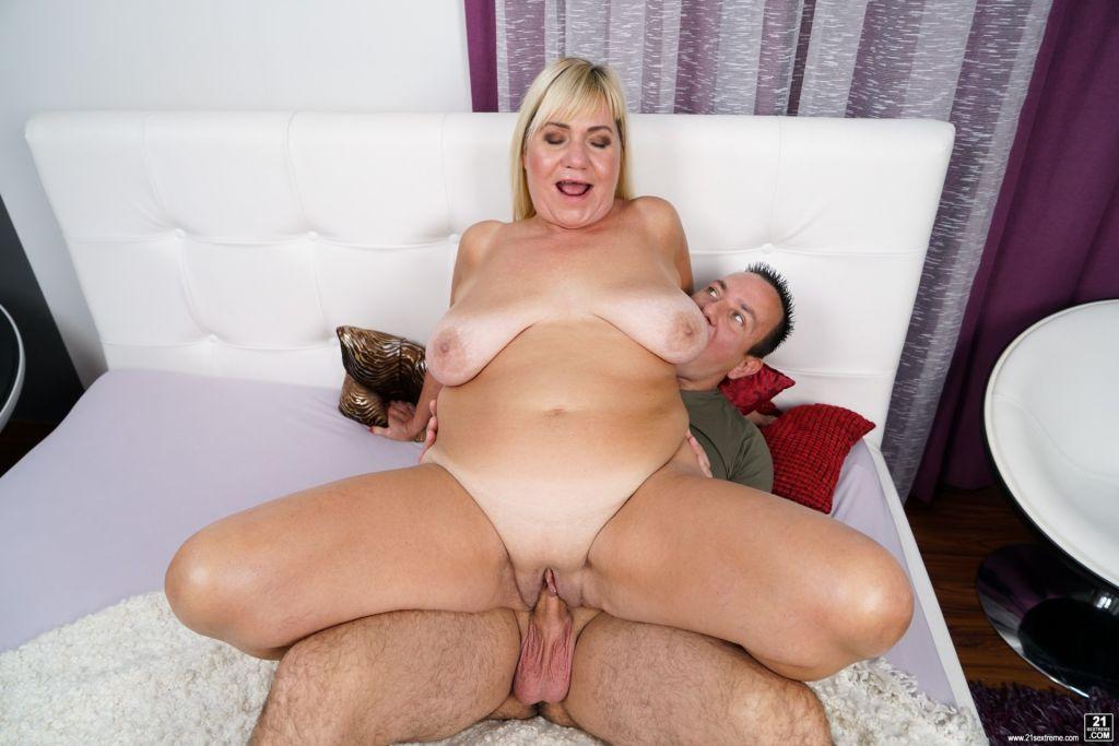 Granny Pam's Big Tits