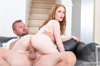 naked Ella Hughes hardcore redhead