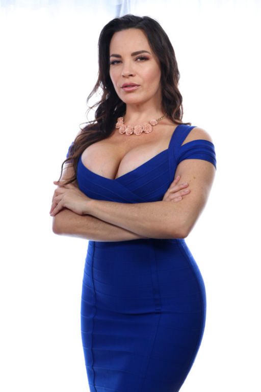 Busty slut Step-Mother Dana DeArmond is pacing aro