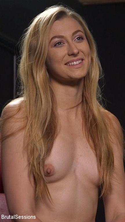 Skinny Blonde Slut Alexa Grace in Sadistic Rope Bo