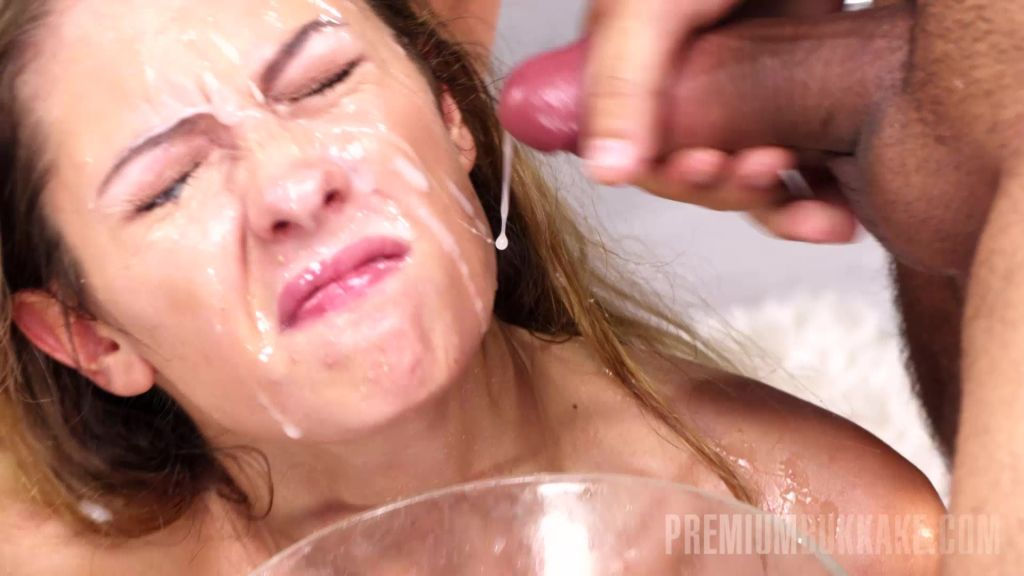 Rebecca tries so hard to make a blowjob for everyo