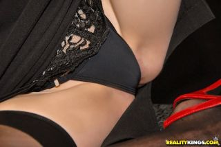 naked Chloe Parker amateurs stockings