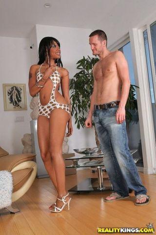 porn Kapri Styles interracial bubble butt