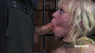 Sarah Jane Ceylon sexy blonde is bound in rope for
