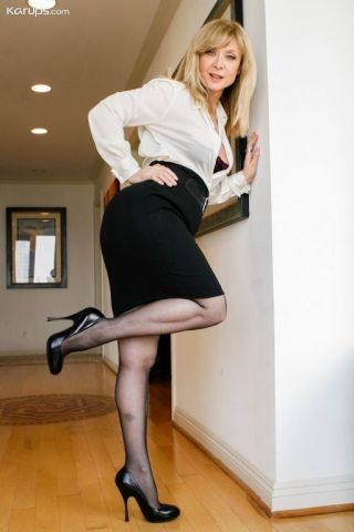 nude Nina Hartley lingerie milf