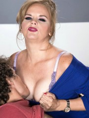 Mature teacher Micky Lynn fucks her student