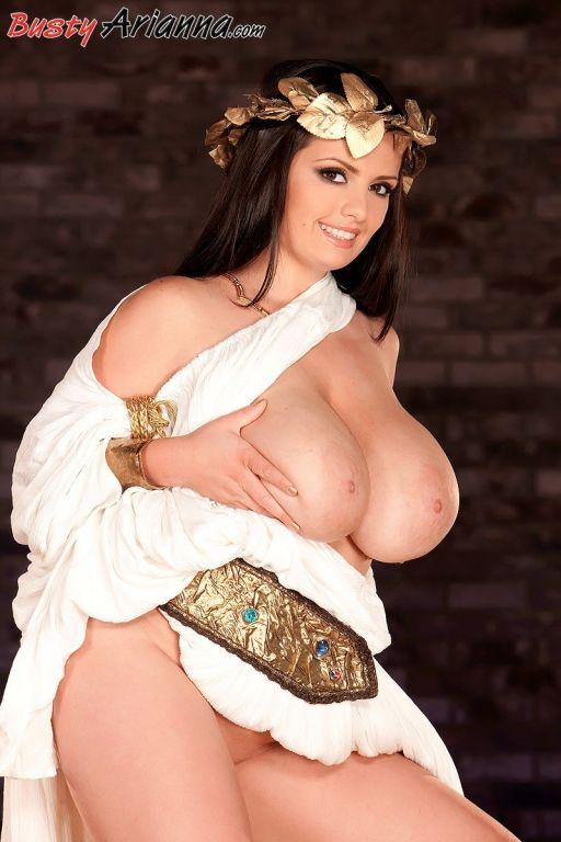 Arianna Sinn showing off huge Boobs